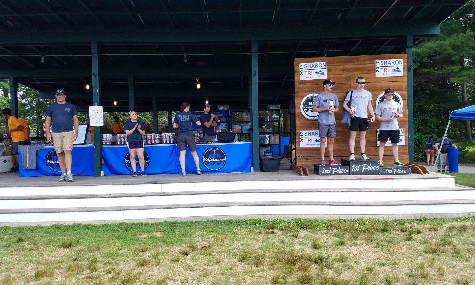 Sharon Triathlon Race Summary