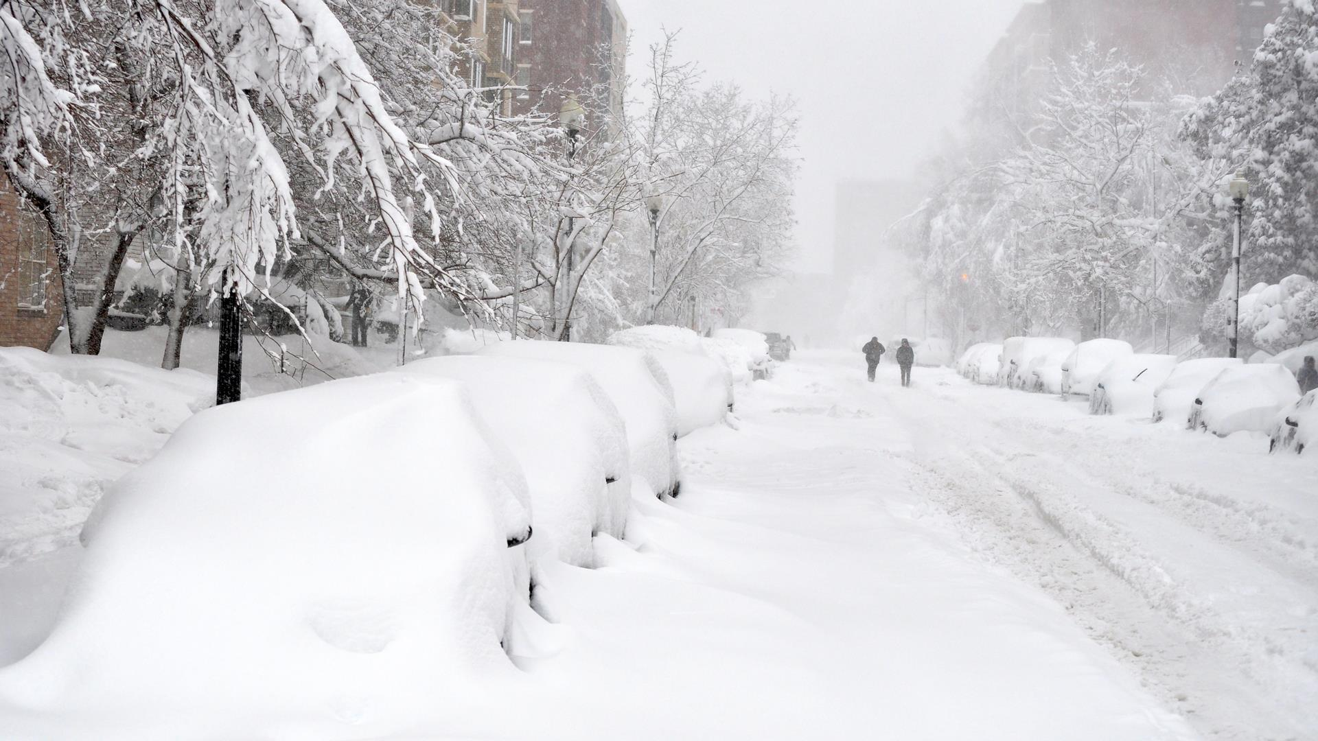 The Bomb Cyclone and Training for Boston